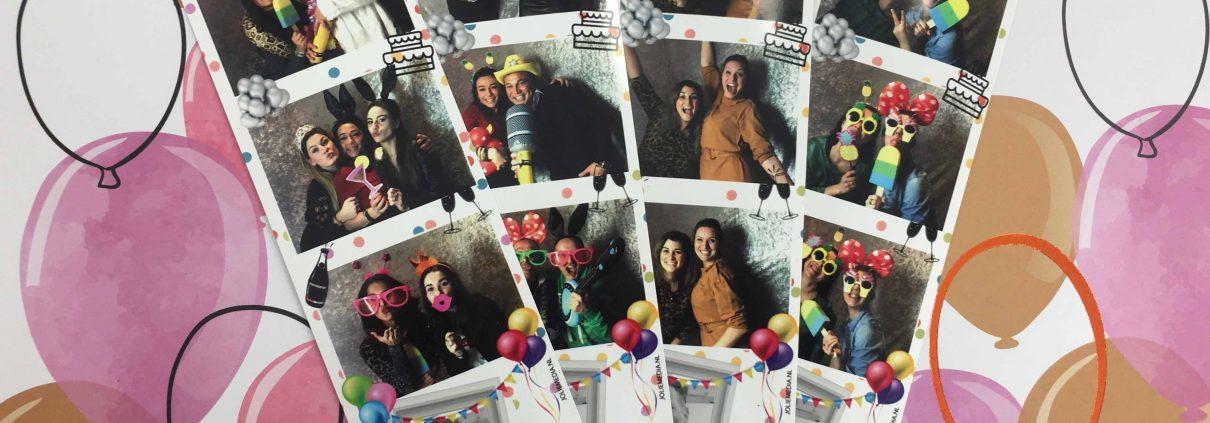 Jolie Media photobooth Feest